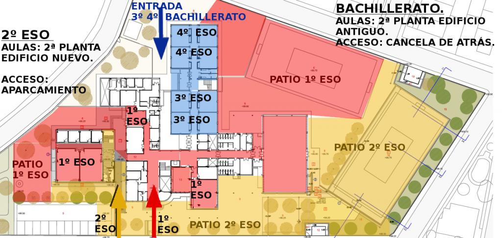 Zonas de acceso y recreo